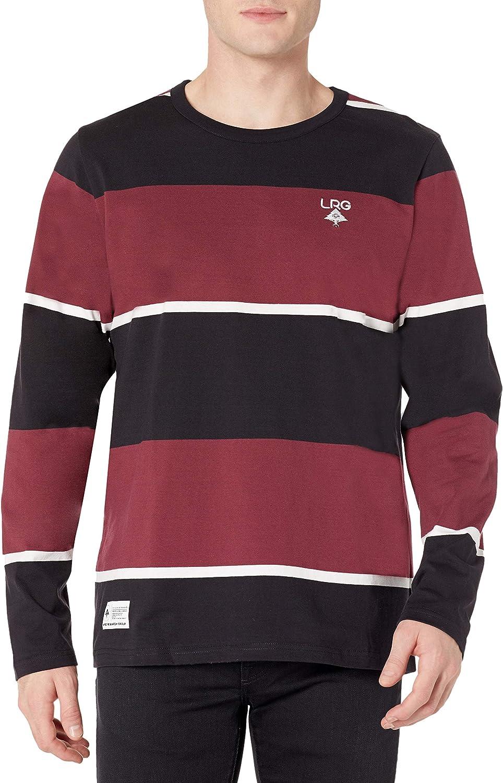 LRG Bargain Men's Short Max 69% OFF Sleeve Design Logo T-Shirt