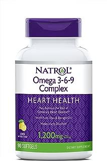 Natrol Omega 3-6-9 Complex Softgels, 90-Count