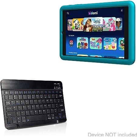BoxWave Alcatel LX Keyboard Portable Keyboard with Integrated Commands for Alcatel LX SlimKeys Bluetooth Keyboard Jet Black