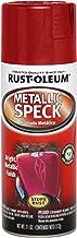 Rust-Oleum Automotive 251598 11-Ounce Metallic Speck Spray, Red