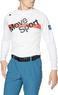 [デサント] 【20年秋冬モデル】BLUE LABEL 長袖シャツ ハイネック ストレッチ UVケア モーション3D 動きやすい DGMQJB14 メンズ