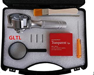 3-in-1 Rotating Cross Hatch Adhesion Tester Cross-Cut Tester Kit with 1/mm/2mm/3mm blades, metal handle
