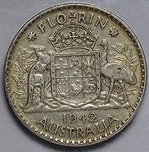 1942 AU AU0025 Australia Florin vintage DE PO-01