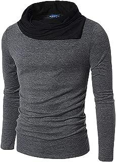 Fashion Gallery Tshirts for Men Full Sleeve Cowl Neck Tshirts Men's Regular Fit Cotton Tshirt