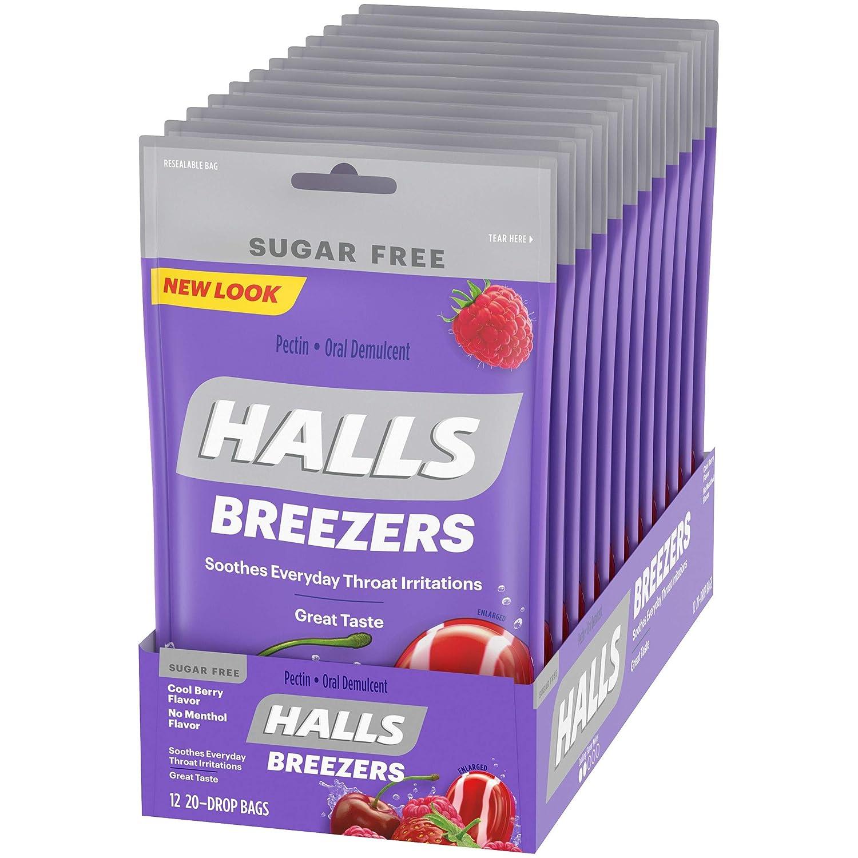 Best Halls For Sore Throat
