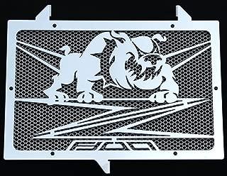 protecci/ón de radiador negro mate para Z800 design /«Bulldog/» alambrera de protecci/ón verde