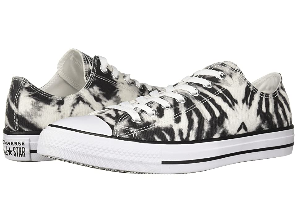 Converse Chuck Taylor(r) All Star(r) Ox Tie-Dye (Black/White/Black) Classic Shoes