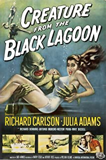 American Gift Services Creature from The Black Lagoon Vintage Movie Poster 11x17 inches