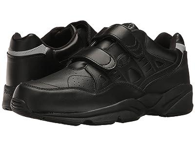 Propet Stability Walker Strap (Black) Men