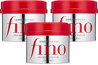 Shiseido Fino Premium Touch penetration Essence Hair Mask Hair Treatment 230g [Set of 3]