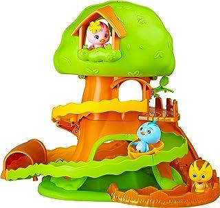 KATURI Juguete Familia Gran casa con árbol multiactividad, pájaro – A Partir de 3 años – Figuras de 6 cm del Dibujo Animado Playset modulable (Auldey EU810520)