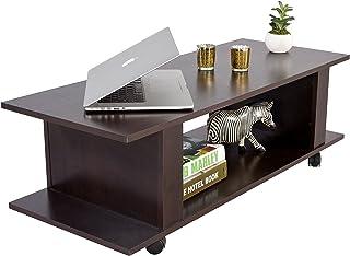 DeckUp Bonton Coffee Table/Centre Table (Dark Wenge, Matte)