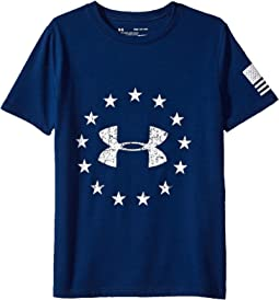 Under Armour Kids - Freedom Logo Tee 2.0 (Big Kids)