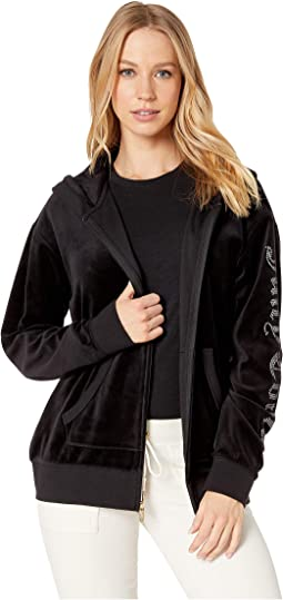 Track Velour Juicy Gothic Beachwood Jacket