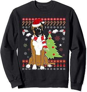 Boxer Dog Christmas Tree