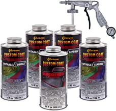 Custom Coat Tintable 0.875 Gallons Urethane Spray-On Truck Bed Liner Kit with Included Spray Gun (no Color Included)