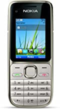 Nokia C2-01.5 Unlocked GSM Phone with 3.2 MP Camera and Music and Video Player--U.S. Version with Warranty (Warm Silver)
