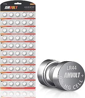 LR44 AG13 SR44 357 303 LR44G Battery - [Ultra Power] Premium Alkaline 1.5 Volt Non Rechargeable Round Button Cell Batterie...