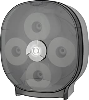 Palmer Fixture RD0044-01 4-Roll Carousel Tissue Dispenser, Dark Translucent