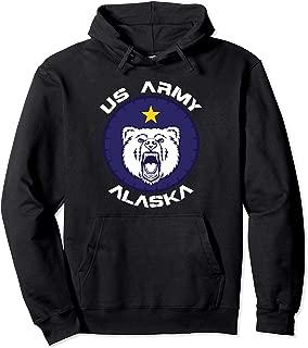 US Army Alaska Polar Bear Patch Hoodie