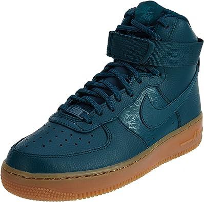 Amazon.com | Nike Air Force 1 Hi SE Women's Shoes Midnight ...