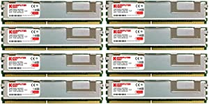 KOMPUTERBAY 16GB (8X2GB) Certified Memory for DELL Precision Workstation 490 DDR2 667MHz PC2-5300 Fully Buffered