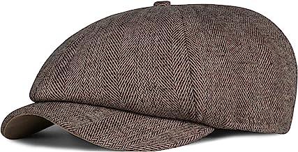 Gorra de Peaky Blinders de estilo chico repartidor de peri/ódicos lana