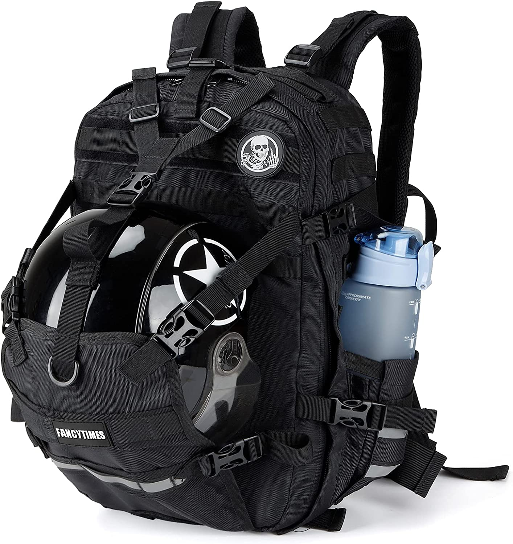 Helmet Backpack Overseas parallel import regular item Large Capacity - Men Motorcycle Japan Maker New