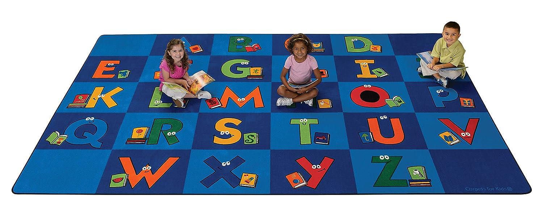 Carpets for Kids 6234 Reading Letters Rug Library 8ft 13ft Long-awaited 4in Atlanta Mall x