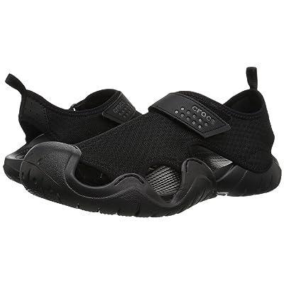 Crocs Swiftwater Sandal (Black/Black) Men