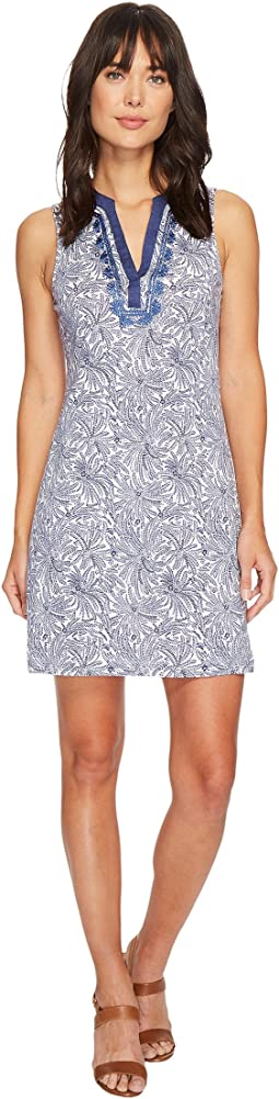 Tommy Bahama - Fez Feathers Sleeveless Short Dress