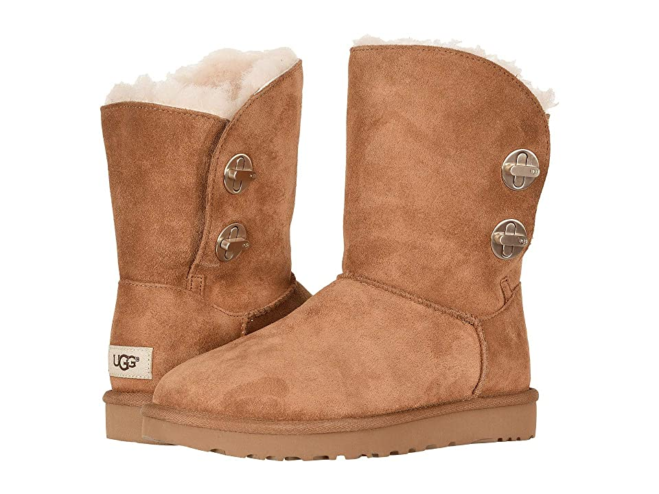 UGG Classic Short Turnlock Boot (Chestnut) Women