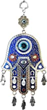 Betterdecor Blue Evil Eye Hamsa Protection Hanging Decoration Ornament (Gift Pouch)