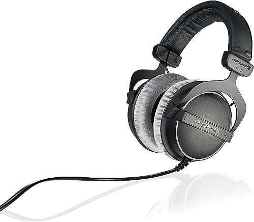 beyerdynamic BD459046 DT 770 PRO 250 Ohms Closed Dynamic Headphone Black