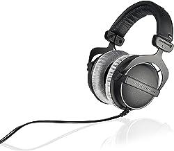 هدفون Beyerdynamic DT 770 PRO 250 اهم گوشواره استریو بیش از حد گوش در سیاه. ساخت و ساز بسته، استفاده از سیمی برای استودیو، ایده آل برای مخلوط کردن در استودیو