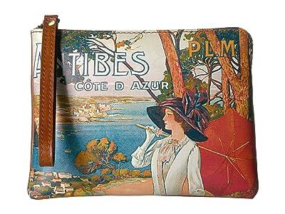 Patricia Nash Cassini (Antibes/Tan) Wristlet Handbags