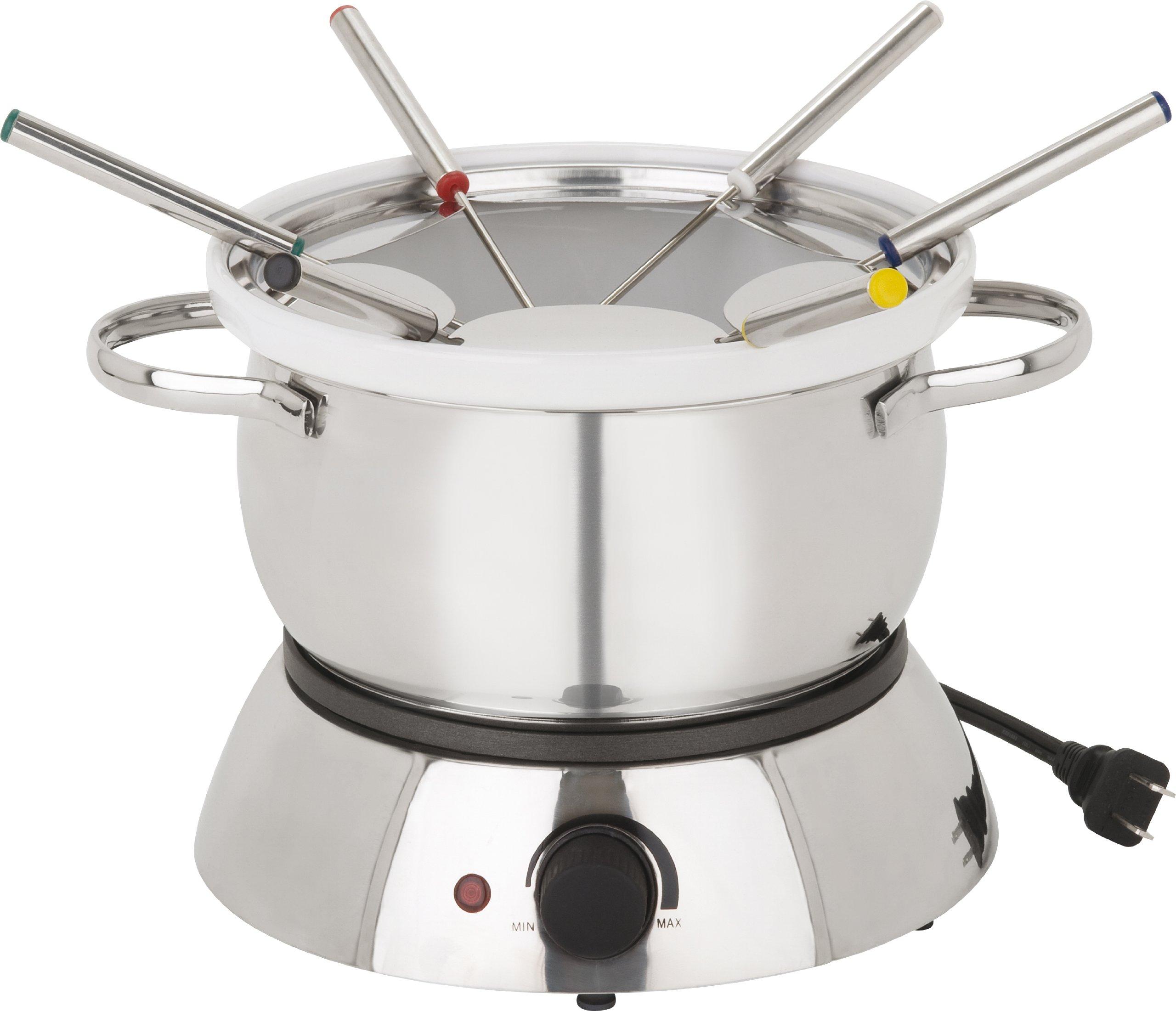 Trudeau alto electric fondue 11 piece