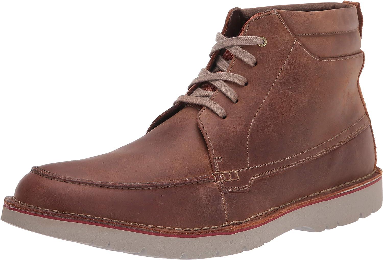 Clarks Large-scale SALENEW very popular! sale Men's Vargo Moc Boot Ankle