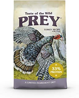 Taste of The Wild Prey Turkey Formula for Cat with Limited Ingredients 2.72kg