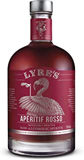 Lyre's Aperitif Rosso Non-Alcoholic Spirit - Sweet Vermouth Style | Award Winning | 700ml
