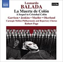 Balada, L.: Muerte De Colon (La) (Death of Columbus) [Opera]