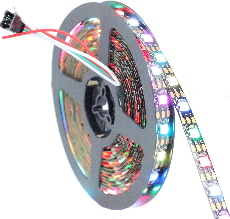 Gifts Superior INVOLT 16.4FT 300 Pixels WS2812B Programmable Addressable St LED