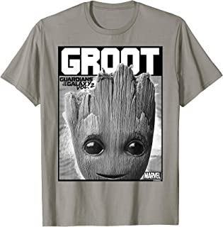 Guardians Vol. 2 Baby Groot Close-Up T-Shirt C2