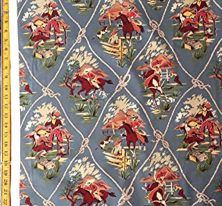 Roping Ranch Scenic Alexander Henry Fabric - by The Yard (Yard)