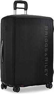 Sympatico-Luggage Cover, Black, Large-Checked