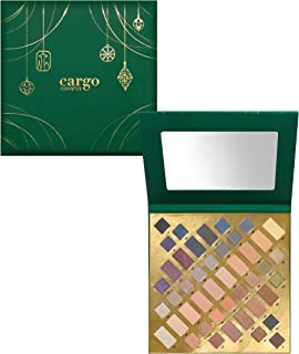 Cargo High Pigment Eye Shadow Palette, Smudge-Proof, Transfer-Proof, Longwear, Crease-Proof, Emerald City Blockbuster Eye Shadow Palette Limited Edition