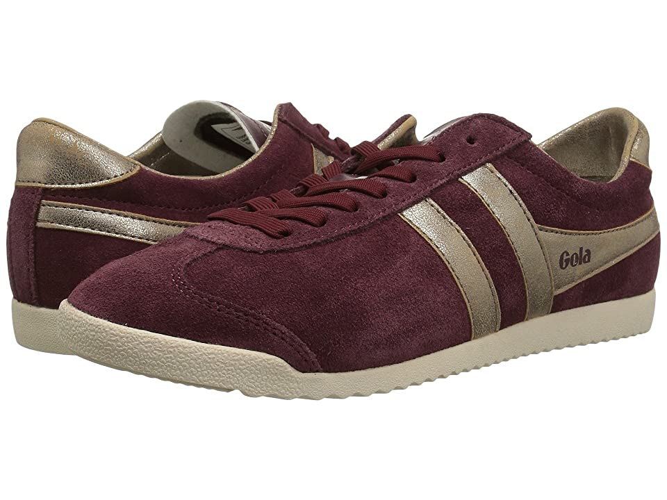 Gola Bullet Mirror (Burgundy/Gold) Women