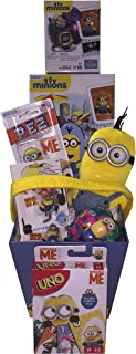 Despicable Me Minion Madness Gift Basket with Uno ideas for Easter, Birthday, Get Well or Just Because