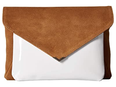Sam Edelman Mila 2-in-1 Clutch (Whiskey) Handbags