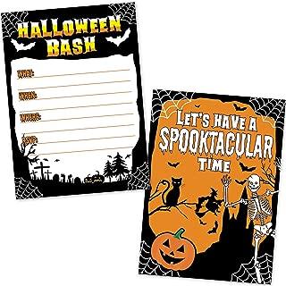 easy halloween invitations